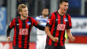 Hertha schafft in Duisburg nur 2:2