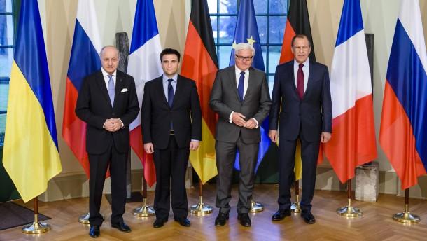 Steinmeier verurteilt neue Kämpfe in der Ukraine