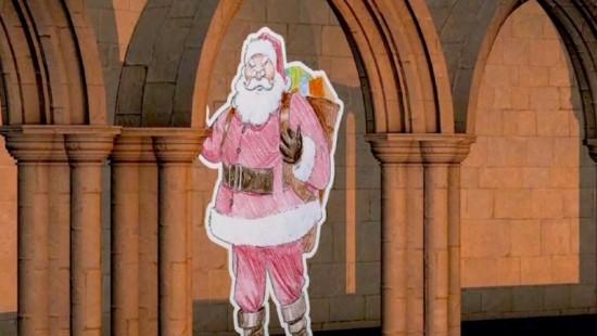 Die Geschichte des Weihnachtsmanns