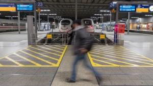 Zugausfälle am Hauptbahnhof München