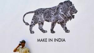 Gut gebrüllt, indischer Löwe