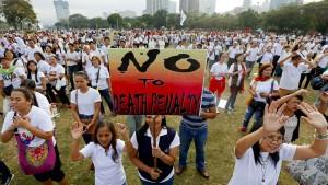 Duterte und Trump verschlechtern die Amnesty-Bilanz