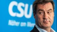 Markus Söder (CSU) will Negativzinsen nicht einfach achselzuckend hinnehmen