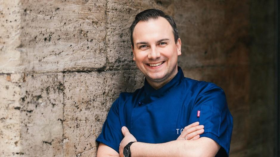 Meisterkoch Tim Raue in seinem Sternerestaurant