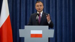 Darum geht es im Streit um Polens Politik