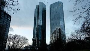 Der schwere Weg der Deutschen Bank