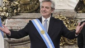 Neuer Präsident Argentiniens vereidigt