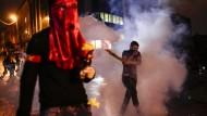 Proteste gegen Erdogan nach Terror in Ankara