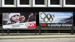 Aus für Winter-Olympia 2026 in der Schweiz