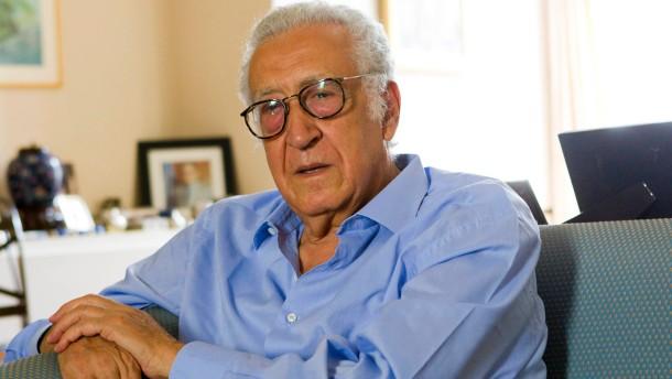UN-Sondervermittler Lakhdar Brahimi neu