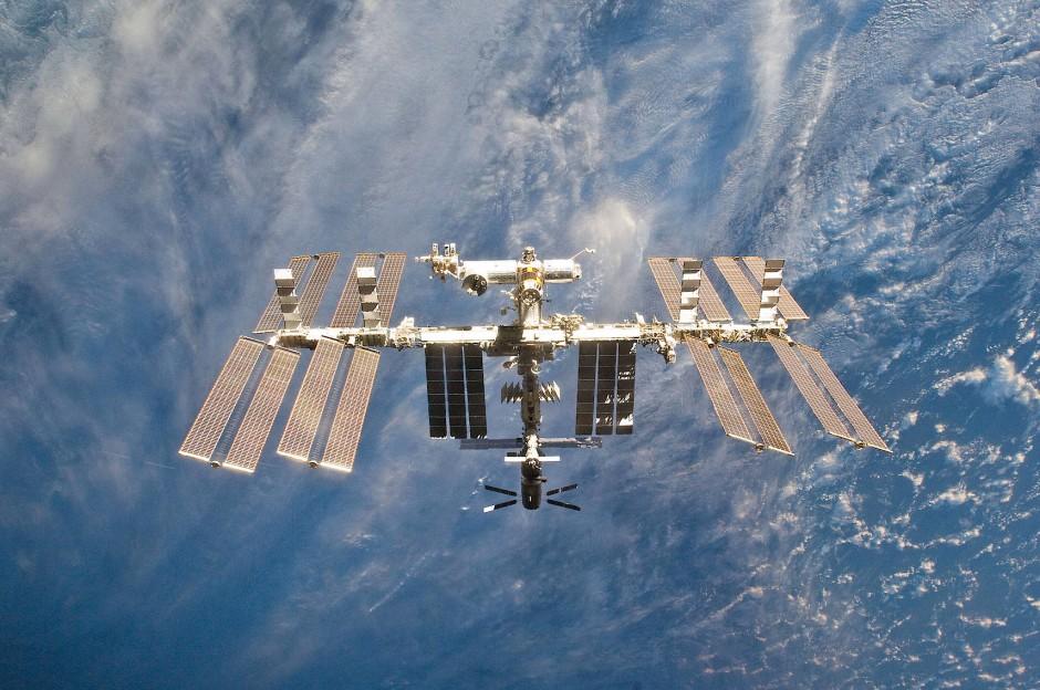Das ferne Ziel: Internationale Raumstation ISS
