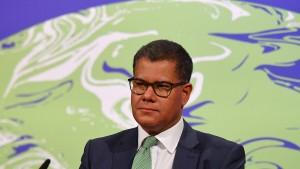 COP-Präsident: Glasgow drohen schwierige Klima-Verhandlungen