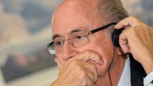 Vehementer Widerspruch gegen Blatter