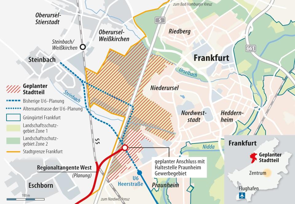 Neubaugebiet an der A5: CDU-Verbände planen Sternmarsch