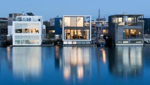 Können schwimmende Häuser die Wohnungsnot beseitigen?