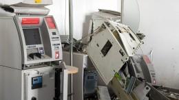 Warum so viele Geldautomaten in die Luft gesprengt werden