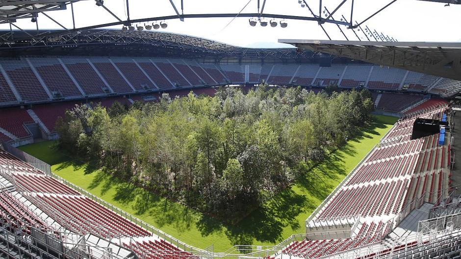 """Das neue """"Waldstadion"""" von Klagenfurt"""