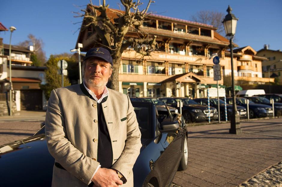 Alexander Sego, ein deutschamerikanischer Manager, hat am See ein Vermögen gemacht.
