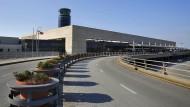 Das Terminalgebäude des Rafik-Hariri-Flughafens in Beirut.