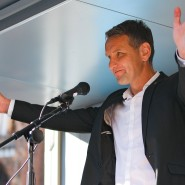 Neue Entgleisung: Björn Höcke, Thüringer AfD-Vorsitzender (hier auf einem Archivbild aus dem August aus Schwerin)