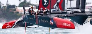 Endlich ein Duell auf Augenhöhe? Oracle gelingt im America's-Cup-Finale der erste Sieg über Neuseeland.