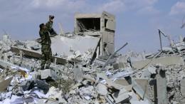 Israel will weiter gegen iranische Militärpräsenz in Syrien vorgehen