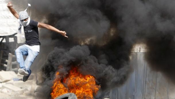 Tote bei Protesten im Westjordanland