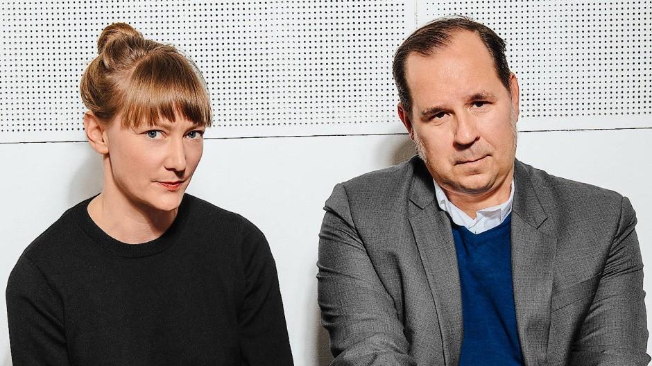 Die Organisatoren: Johanna Süß und Gregor Maria Schubert