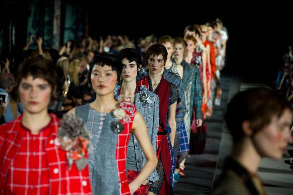 Vergessene Diven und das süße Leben: eine Kollektion von Modeschöpfer Wolfgang Joop für das Label Wunderkind im Jahr 2014