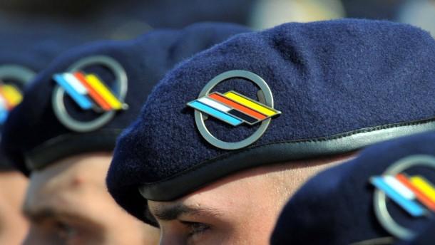 Deutsch-französische Brigade vor unsicherer Zukunft
