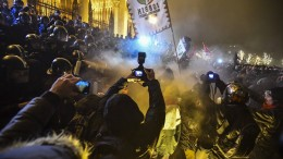 Heftige Proteste gegen die Regierung