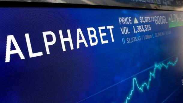 Alphabet macht fast 10 Milliarden Dollar Gewinn
