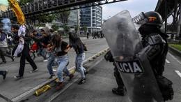 Tränengas gegen Bildungsdemo