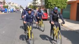 Fahrradstreife gegen Benzin-Diebstahl