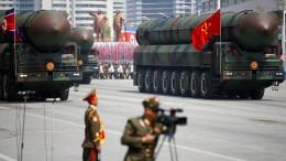 Nordkorea soll Raketenprogramm heimlich vorantreiben