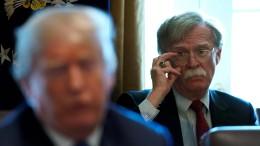 Trump hält sich Militärschlag gegen Syrien offen