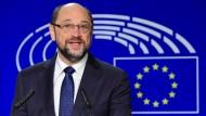 Martin Schulz will in Berlin für Europa kämpfen