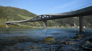 Grüne müssen Mittelrheinbrücke mittragen