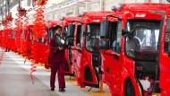 Der nächste bitte: Lastwagenproduktion in der Provinz Anhui
