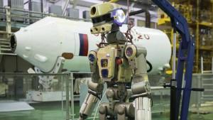 """Roboter """"Fedor"""" erfolgreich auf ISS angekommen"""
