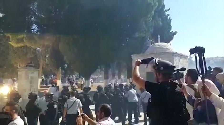 Unruhen am Tag des muslimischen Opferfestes