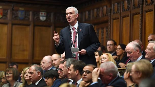 Hoyle wird neuer Sprecher im britischen Unterhaus