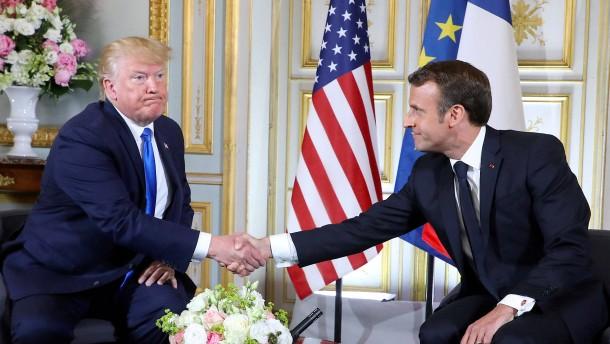 Trump poltert gegen Frankreich