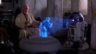 """Die dreidimensional projizierte Prinzessin aus """"Star Wars"""" (1977) setzte den Standard, den die 3D-Technik erst noch erreichen muss."""