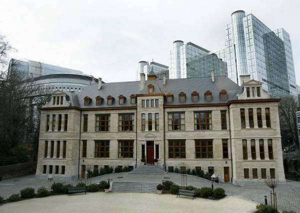 """Viele Bundesländer haben Vertretungen in Brüssel. Die bayerische Vertretung hat darüber hinaus einen besonderen Namen: Schloss """"Neuwahnstein"""""""