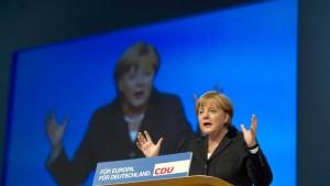 Merkel verteidigt ihren Kurs