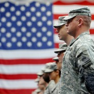 Amerikanische Soldaten in Hessen