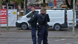 Polizei fanhdet mit allen verfügbaren Kräften