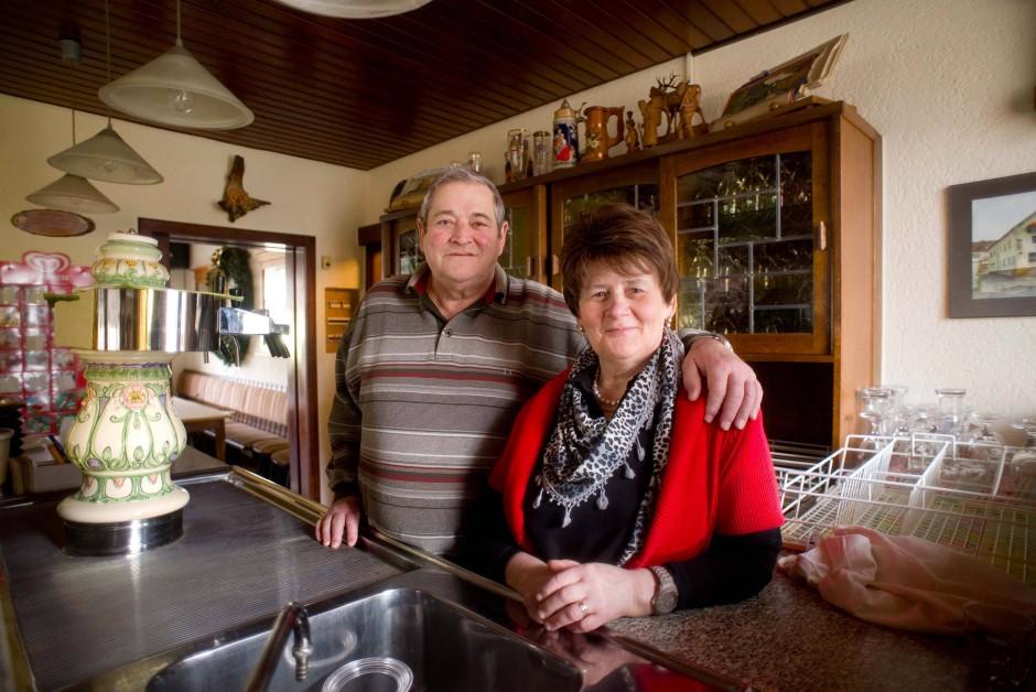 Fast 45 Jahre lang haben Theo und Rosemarie Juli ihr Wirtshaus geführt.