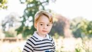 Schick wie immer: der nun dreijährige Thronfolger auf dem Landgut Sandringham in Norfolk.